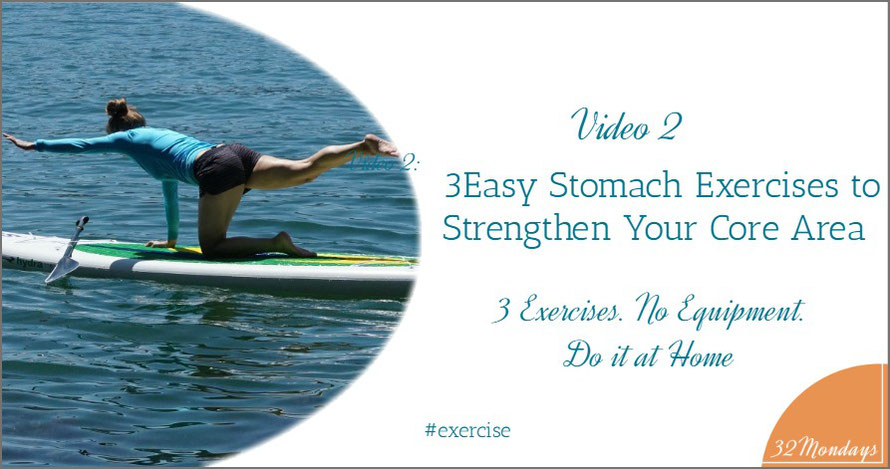 3 Easy Stomach Exercises to Strengthen Your Core Area