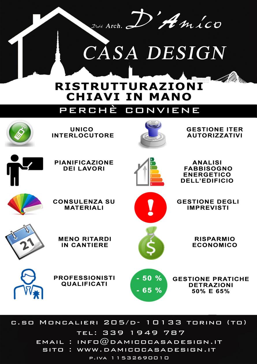Ristrutturazioni chiavi in mano interior design torino - Chiavi in mano casa ...