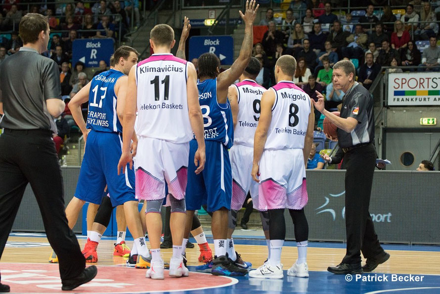 20. 03. 2016 Beko BBL Fraport Skyliners vs. Telekom Baskets Bonn
