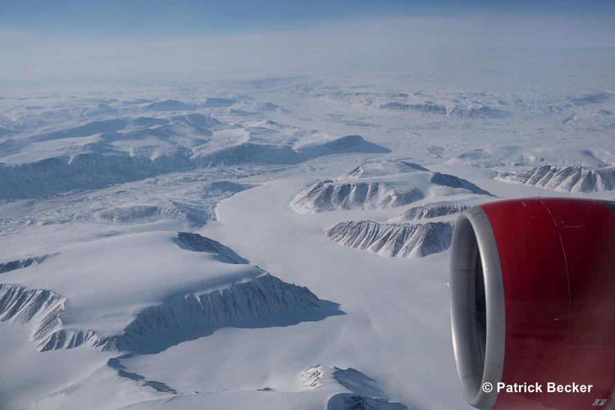 Mit AB9669 auf dem Weg zum Nordpol, 23. 04. 2016