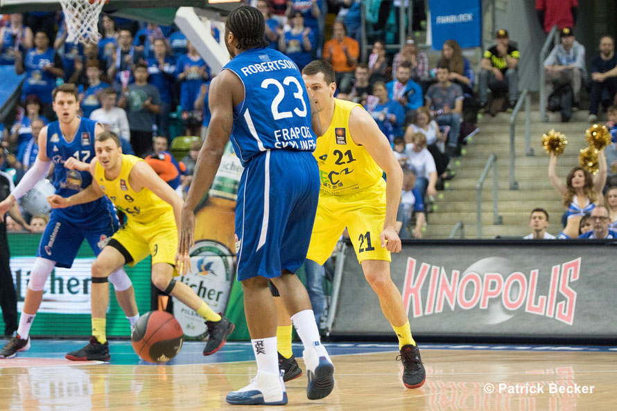 14. 05. 2016 3. Play Off Spiel im Modus Best of 5 - Fraport Skyliners vs. ALBA Berlin