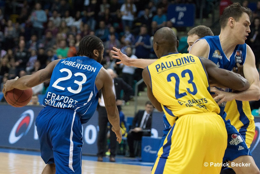 24. 01. 2016 Beko BBL Pokal Qualifikation Fraport Skyliners vs. EWE Baskets Oldenburg