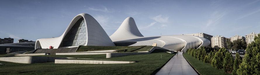 Heydar Aliev Center Baku - Park