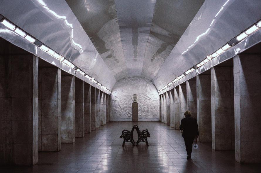 Metro Station in Jerewan von Waldemar fotografiert