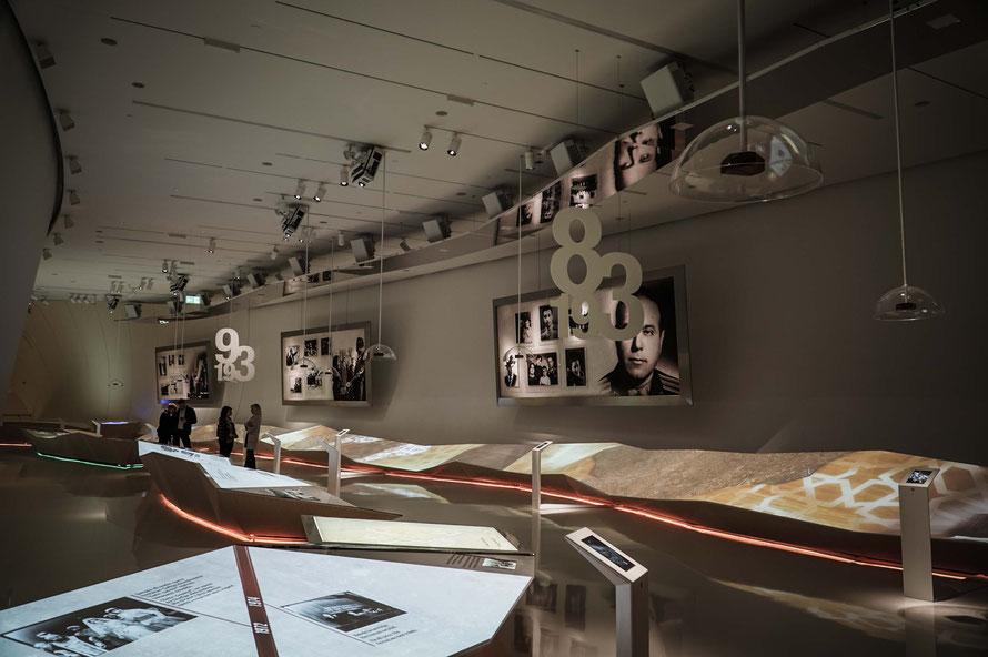 Ausstellung zu Ehren des Präsidenten im Heydar Aliev Center Baku