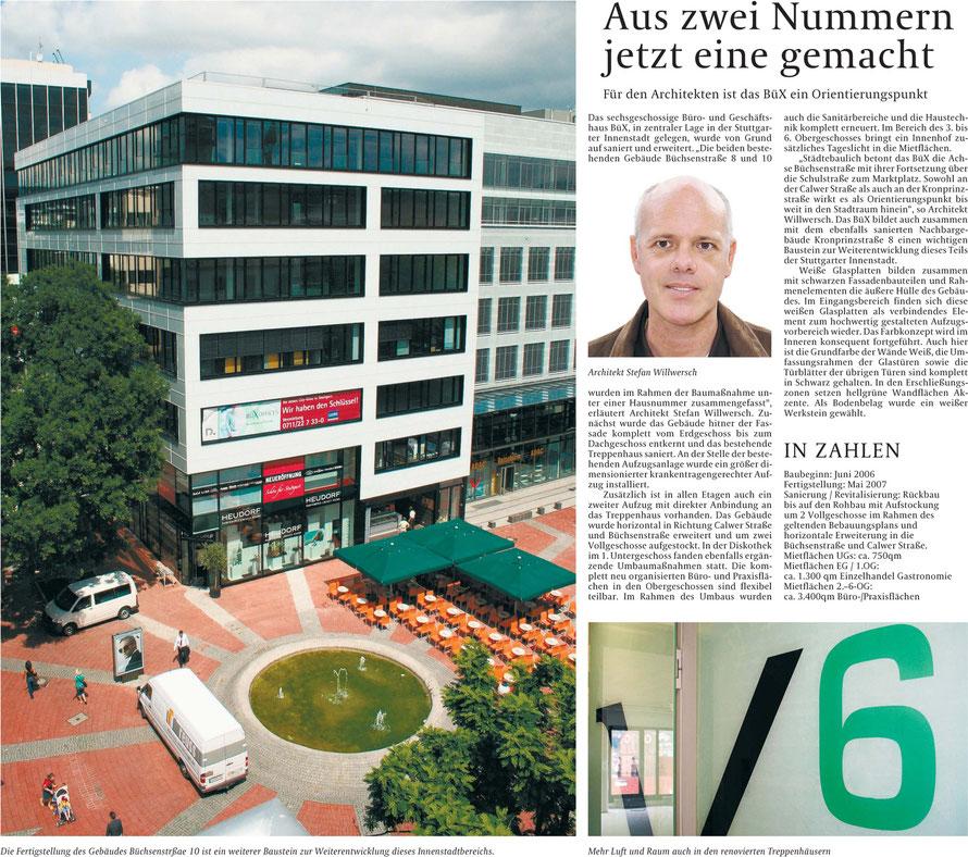 Sonderbeilage Stuttgarter Zeitung / Juni 2007