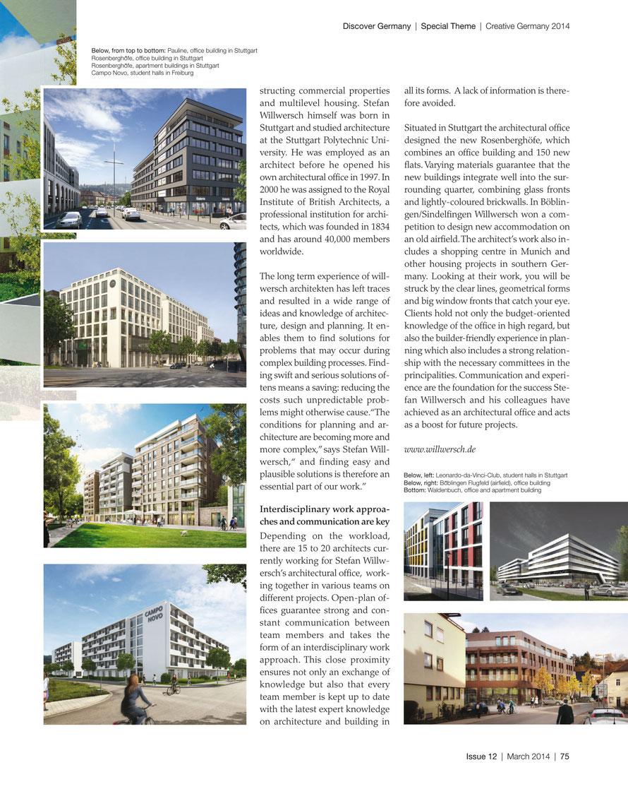 Discover Magazin  / März 2014