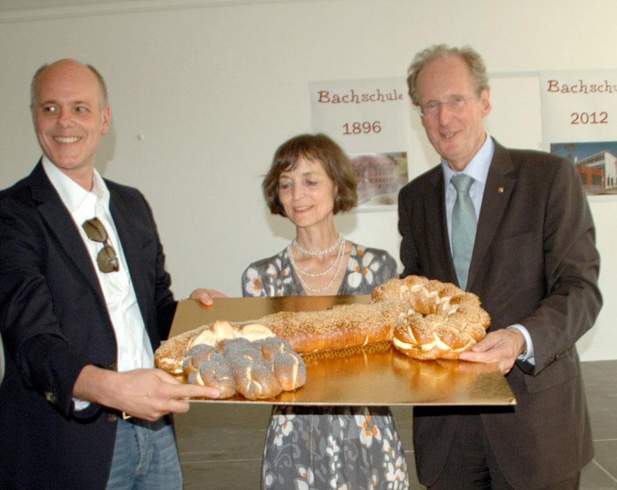 Schuleinweihung Bachschule mit OB Schuster / März 2012