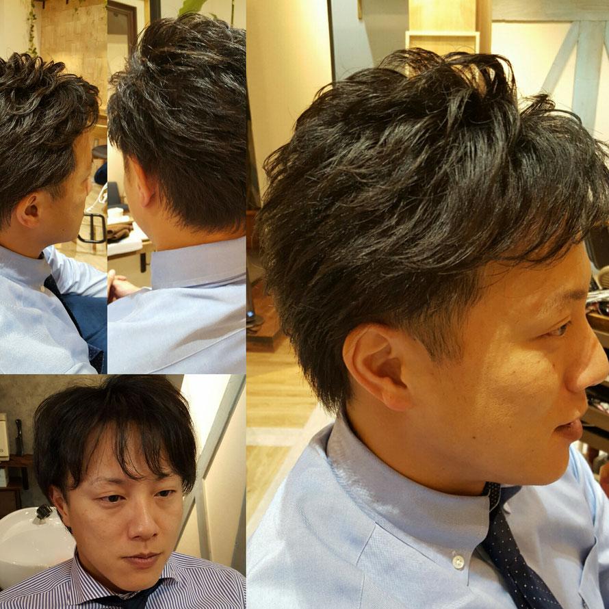 """さえない感じを """"出来る男""""風 に変身させてみせます  「彼氏がさえない 旦那がさえない 息子がさえない」 とお悩みの方 お任せ下さい 人は """"髪型"""" でメンタルまで変われます!"""