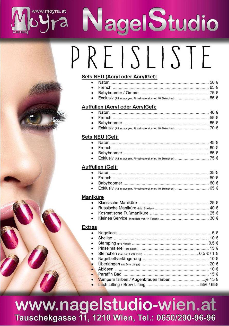 Günstiges Nagelstudio für Ihre perfekte Gel- oder Acryl-Maniküre inkl. NailArt! Neues Set schon um 39€. Auffüllen ab 30€. Wir freuen uns auf Ihren Besuch!