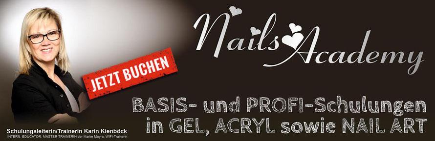 Nageldesign- und NailArt-Schulungen!  Mit der Moyra NailsAcademy begleiten wir Sie zur Profi-NageldesignerIn!