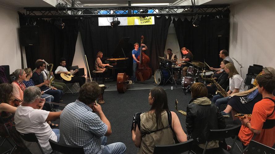 Intercultural Workshop SonicExchange Quintet, Kassel