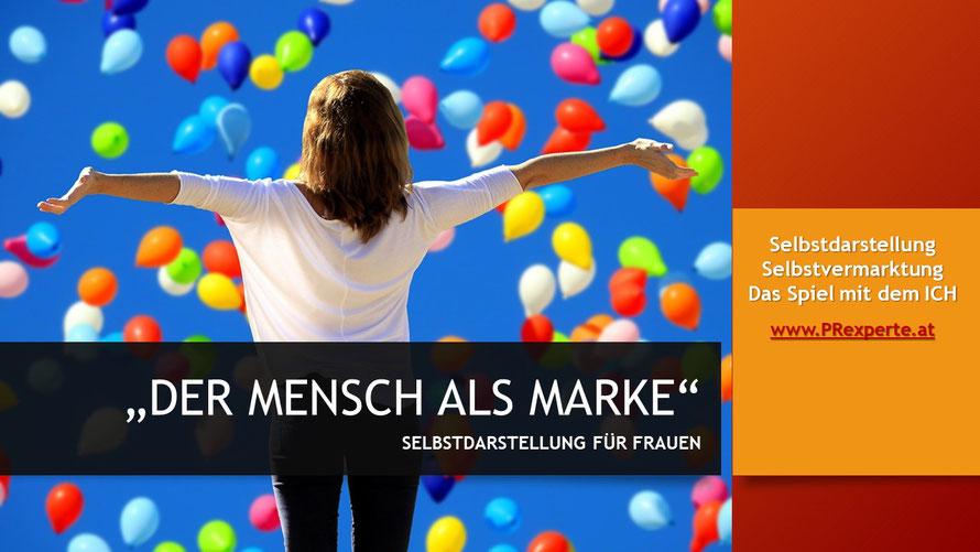 Selbstdarstellung und Selbstinszenierung für Frauen! Karrierecoaching von access media.