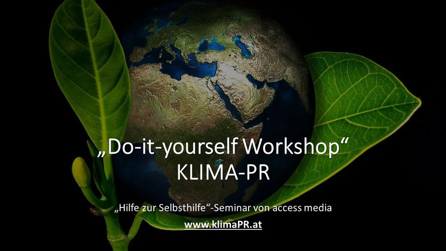 Pressearbeit ohne Agentur, Klimaschutz-PR für Unternehmen, Hotels und Tourismus