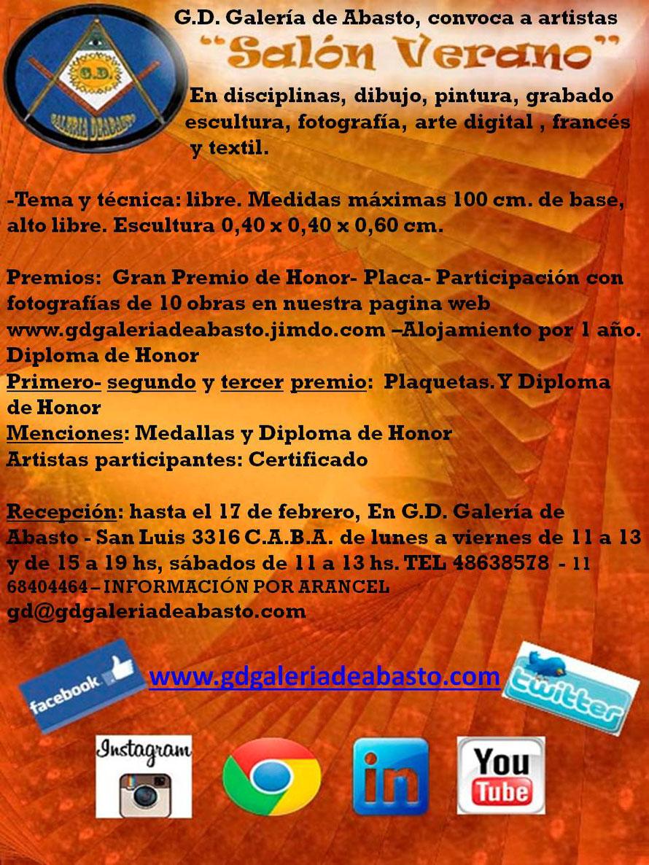 convocatoria,a,artistas,plasticos, salón,verano,grabado,escultura,artedigital,artetextil,abstracto,figurativo,argentina,ciudaddebuenosaires