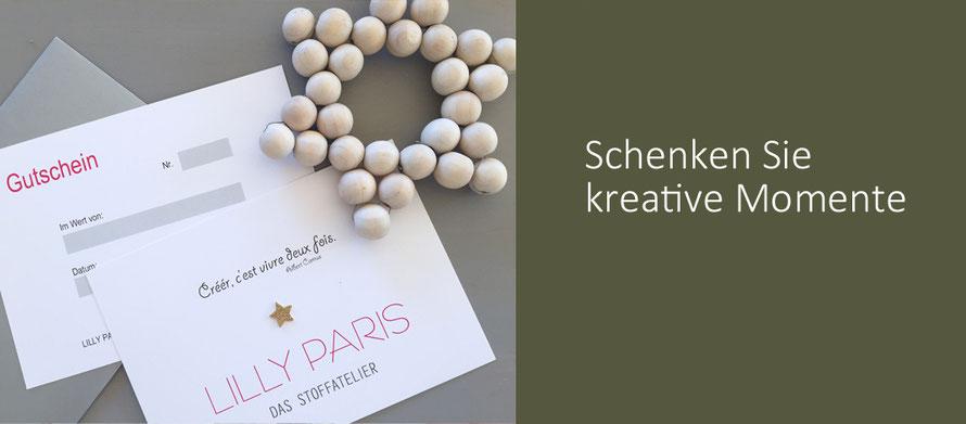 Lotte Martens handebedruckter Jersey Sparkle