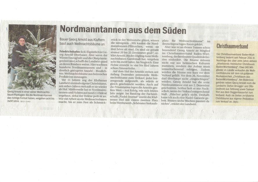 erschienen im Südkurier 18.12.2012