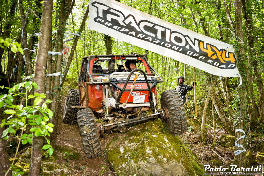 Morandini-Morganti, team Evolution 4x4, vincitori categoria Rossi.