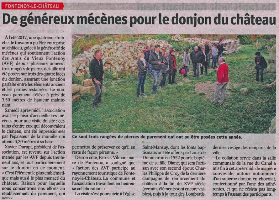 Vosges Matin - 9 novembre 2017