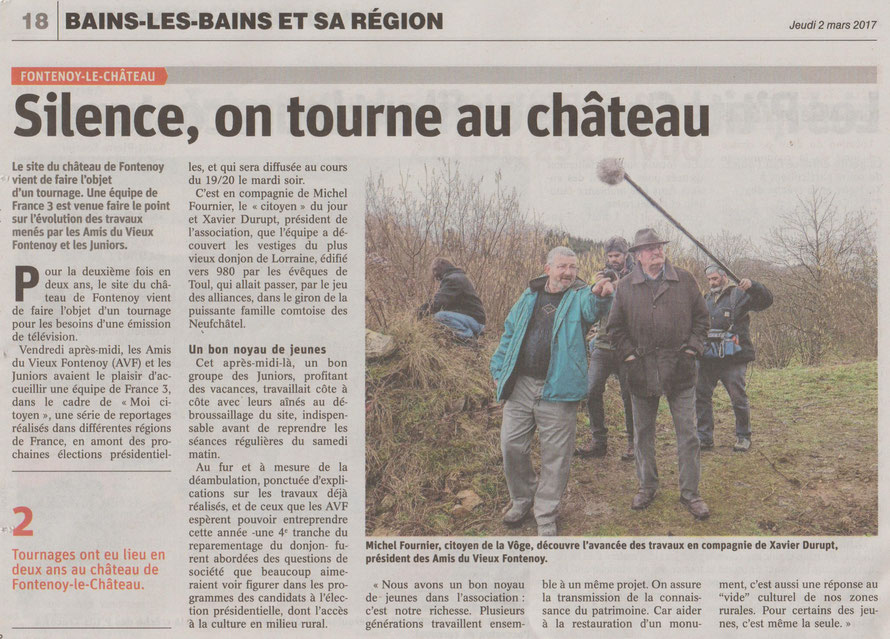 Vosges Matin - 2 mars 2017