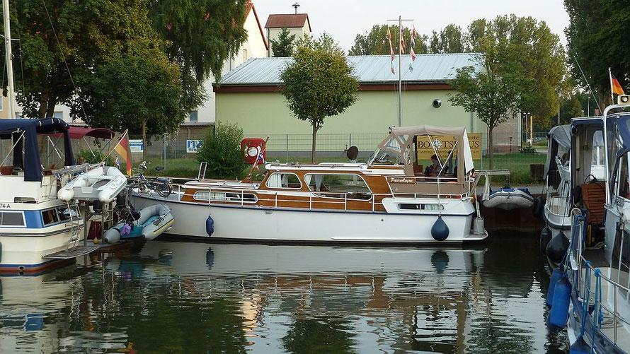 Eingeparkt in Genthin