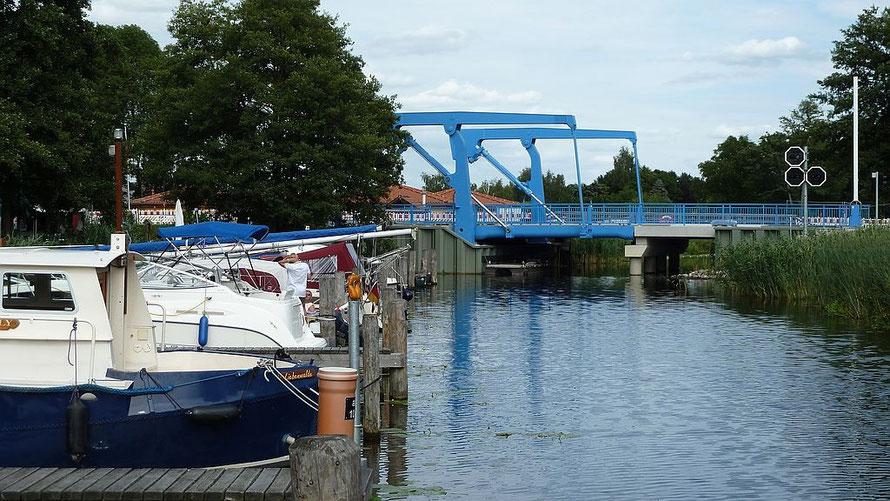 "Brücke über den ""Langen Trödel"" ehem. Finowkanal"