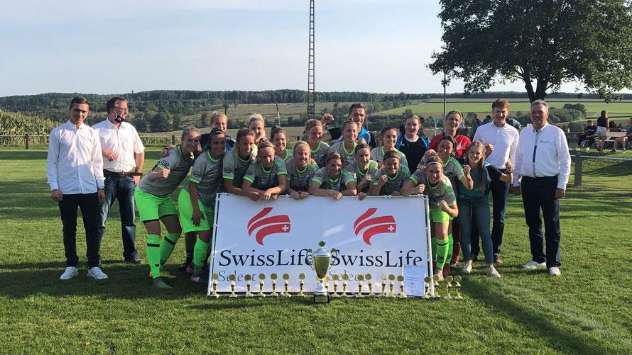 Unsere Damenmannschaft vom SV Ottbergen-Bruchhausen