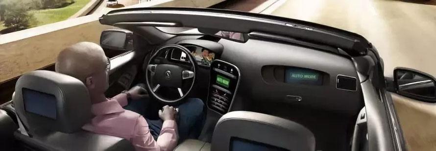 自动化驾驶 (© Continental AG)  (图片来源:大陆集团官网)