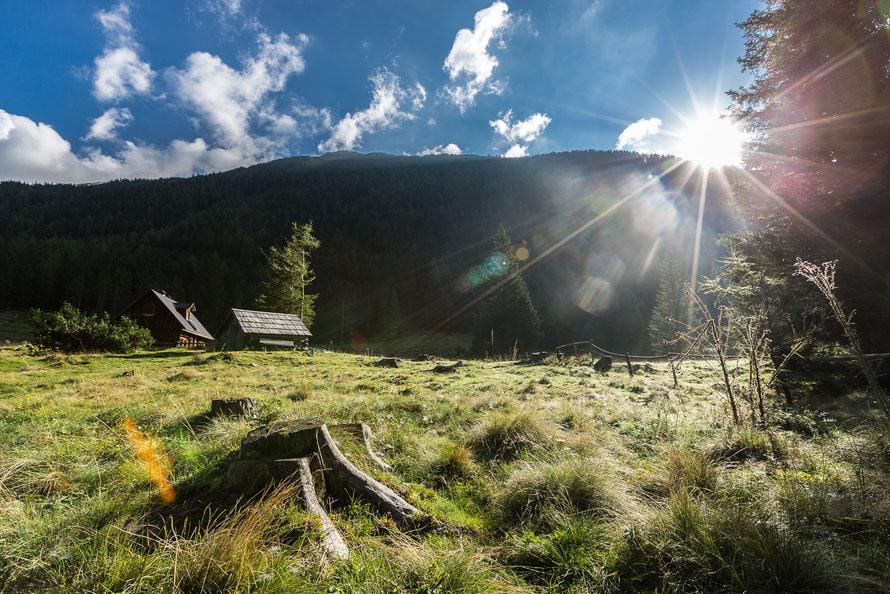 Sonnenaufgang am Etrachsee