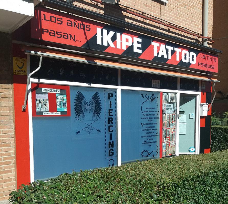 instalaciones tatuaje