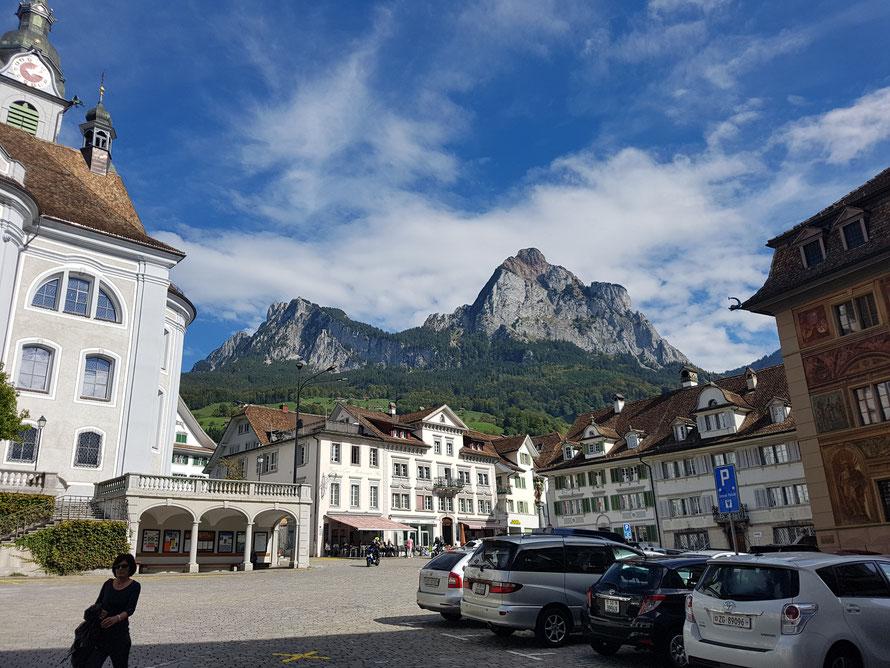Schwyz, Kanton Schwyz © Kunstwirtschaftler