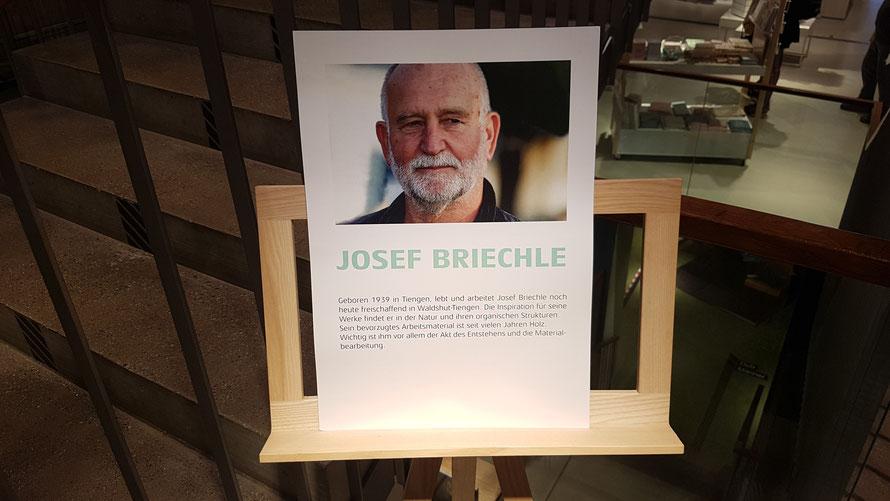 Informationen zum Künstler Josef Briechle © Kunstwirtschaftler
