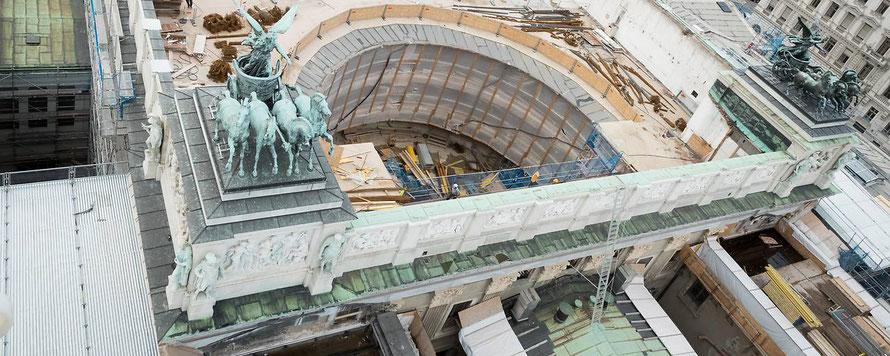 Österreichs Parlament wird renoviert