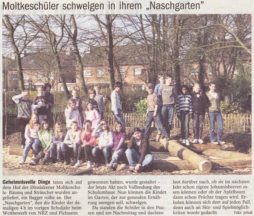 Naschgarten Moltkeschule