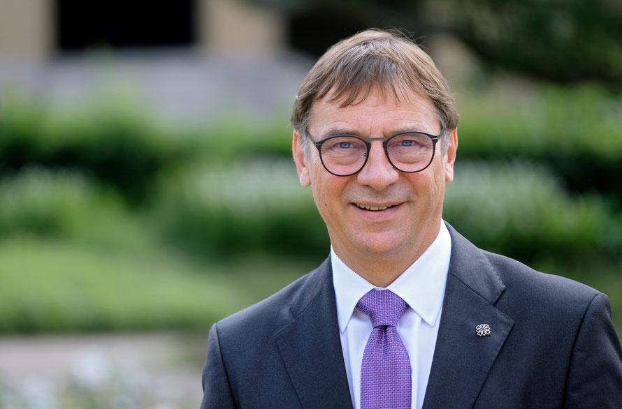 Kirchenpräsident Volker Jung.  Foto: ekhn