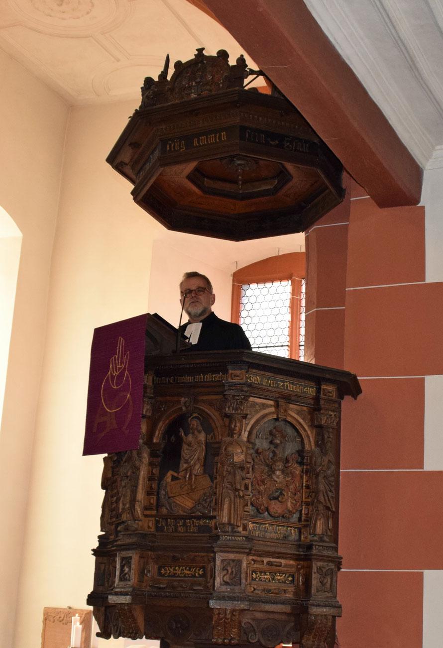 Pfarrer Thomas Schill. Foto: Gert Holle