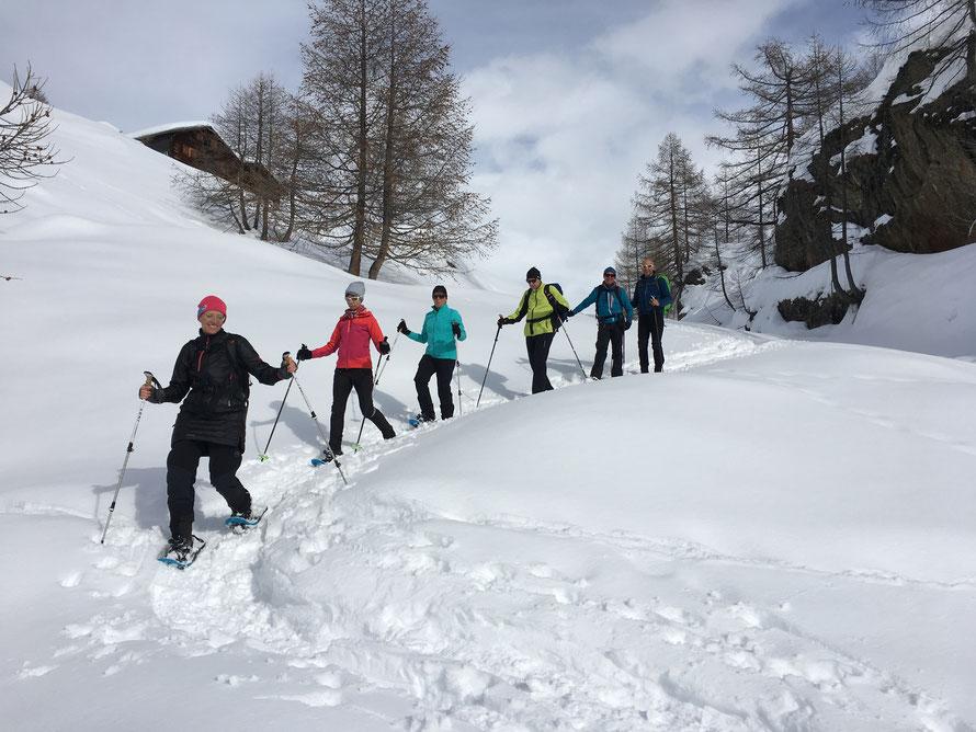 Schneeschuhtour Fafleralp Lötschental
