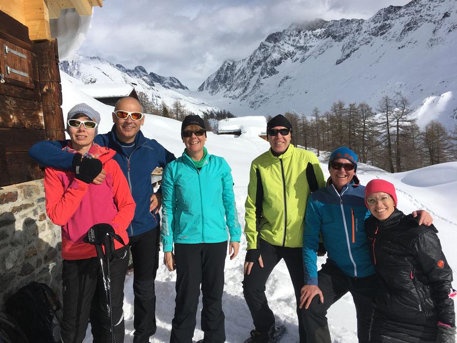 Lötschental Schneeschuhlaufen