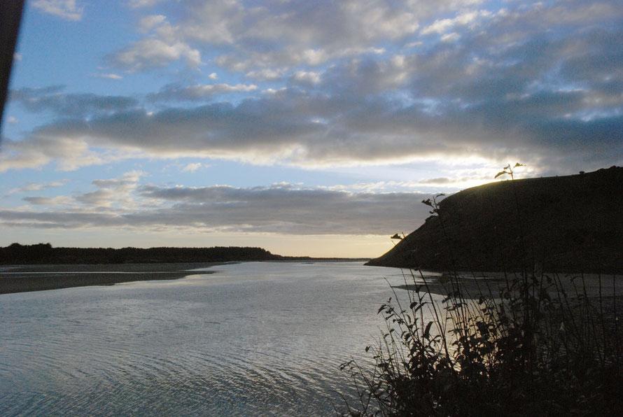 Evening falling on Papnui Inlet, Otago Peninsula