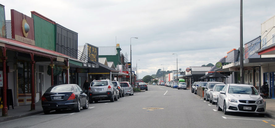 Revell Street in 2014, Hokitika
