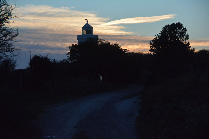 Bis: South Foreland Light with no special effects.