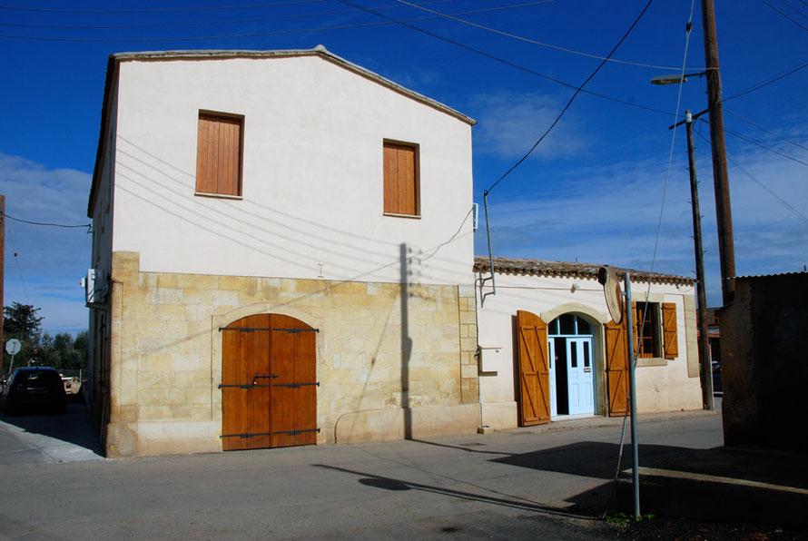 Restored Peristerona house