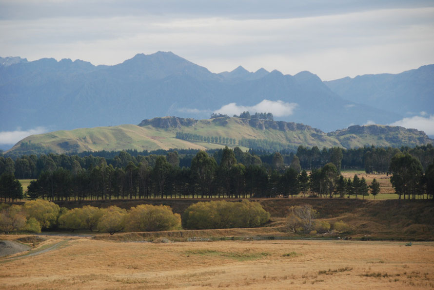 An enchanting mix of light and shade in the Waiau Valley below Lake Manapouri.