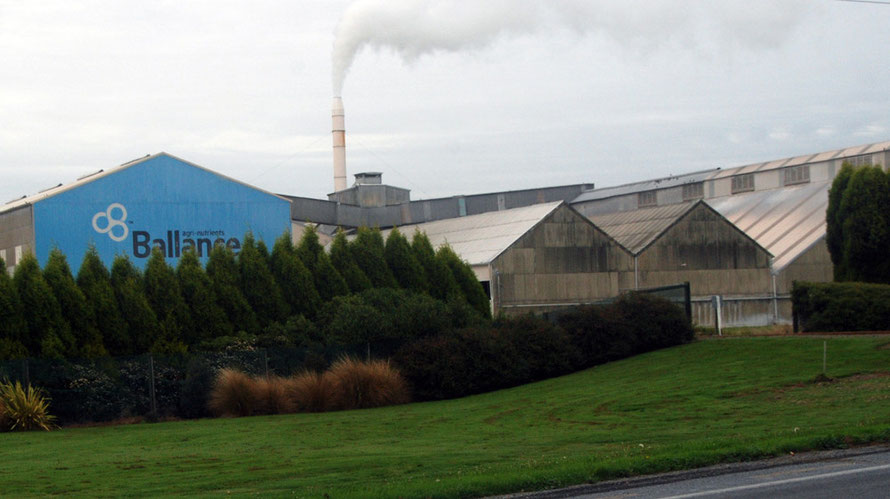 Ballance Agri-Nutrients Plant. Ballance sold 1.33m tonnes of fertiliser in 2013.