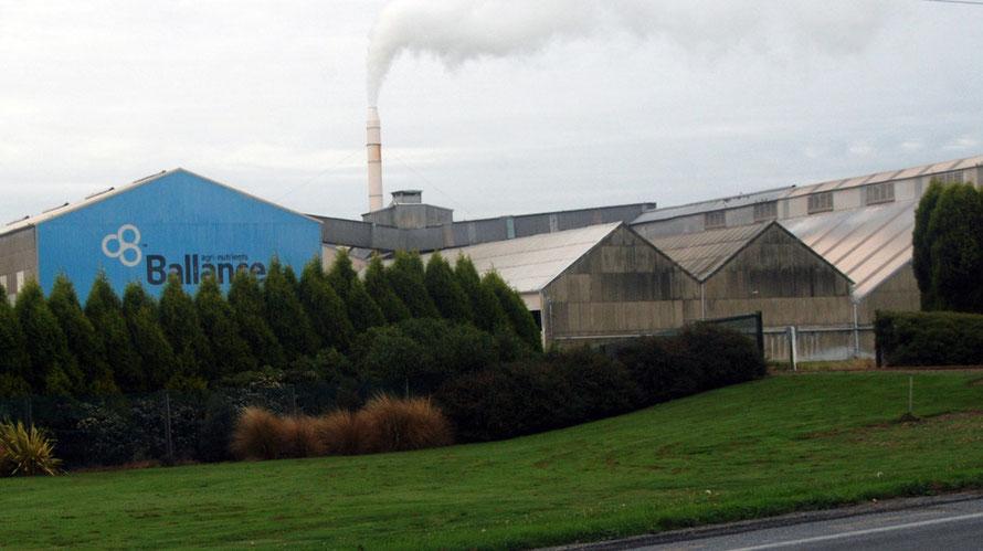 Ballance Agri-Nutrients Plant. Ballance sold 1.33m tonnes of fertiliser in 2013.
