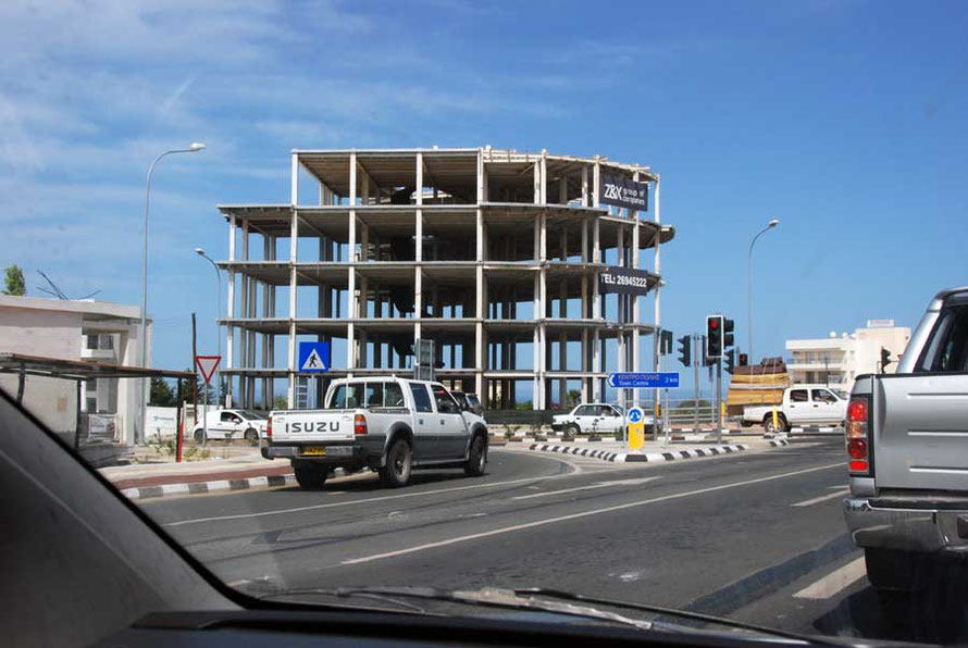 Can construction weather the storm: office block, Pafos