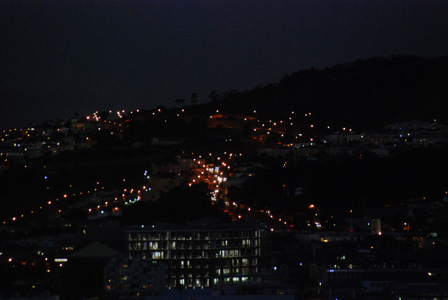 Tamboerskloof at night
