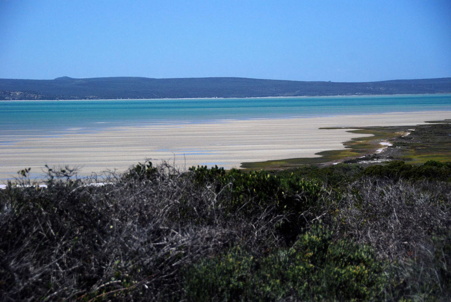 Langebaan Lagoon from the west side