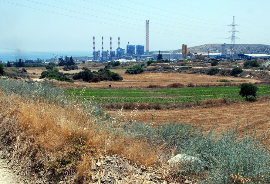 Vasilikos power station.