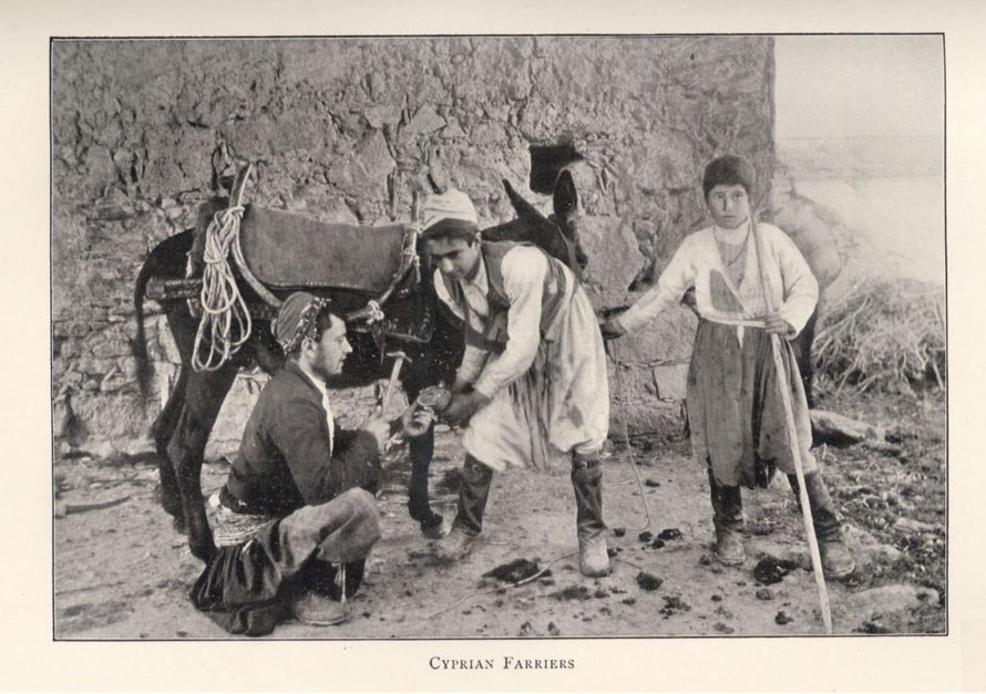 Unknown Cyprian Farriers (1900). From Travelers in the Middle East Archive (TIMEA). http://hdl.handle.net/1911/10018